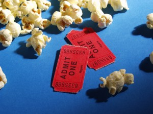 Popcorn and Movie Passes. MorgueFile. Used with Permission.