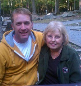 Matthew and Mom. (c) Copyright by Matthew R. St. John.